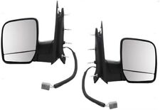 02 03 04 05 06 07 Econoline Van Left&Right Power Mirror without Puddle Lamp Pair