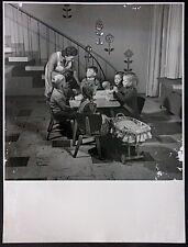 Willi MOEGLE (1897-1989), Vintage-Fotografie um 1940, Kinder am Tisch