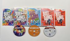 Nintendo Wii Just Dance, Just Dance 2014 & Just Dance Kids 3 Game Lot!!