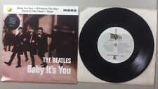 THE BEATLES BABY IT'S YOU 45 RECORD - RE5
