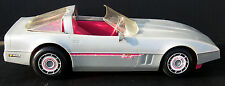 Vintage 1984 Barbie Silver and Pink Corvette Mattel Made in USA