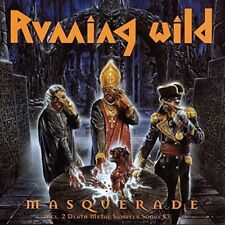 RUNNING WILD MASQUERADE Expanded Edition REMASTERED CD DIGIPAK NEW
