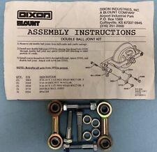 Dixon Mower Oem Nos Double Ball Joint Kit (2) 3775 (4) 5554 (2) 3003 (2) 3328