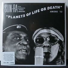 SUN RA 'Planets Of Life Or Death' Vinyl LP Previously Unreleased NEW & SEALED