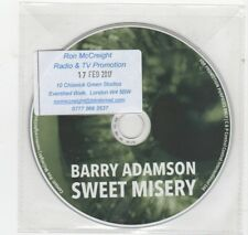 (HV383) Barry Adamson, Sweet Misery - 2017 DJ CD