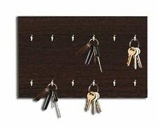 Wooden Key Holder Wall Mounted Key Holder Key Hook Supports 12 Keys
