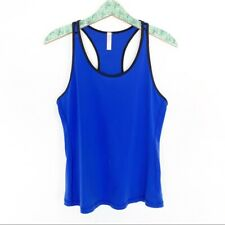 Lucy Tank Top Large Blue