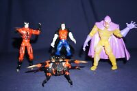 MARVEL TOY BIZ SPIDER-MAN ANIMATED MORBIUS SWARM TARANTULA ACTION FIGURES