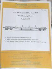 BR Ballast Hopper Wagon Dogfish//ZEV 1956-4mm//00 Plastic Kit. Cambrian C12