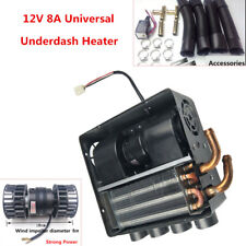 12V 8A Universal Car Underdash Compact Heater 12Pcs Copper Tube Speed Switch