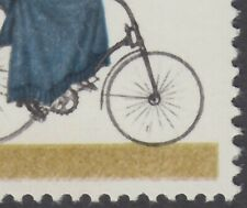 GB LISTED VARIETY - BLACK LINE IN LADY'S FRONT WHEEL SG 1067 SG SPEC  W395c  MNH