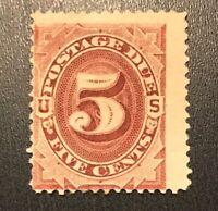 US Postage Due Stamp # J25 Mint LOG H $$275+