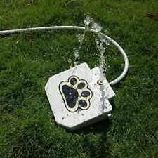 Pet Fountain Automatic Dog Water Feeders Outdoor Pet Drinking Hose Foot Pedal