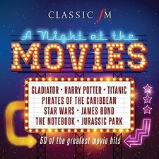 Classic FM: A Night At The Movies by Various Artists New Music CD