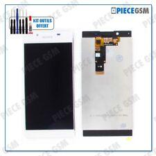 ECRAN LCD + VITRE TACTILE pour SONY XPERIA L1 BLANC + outils