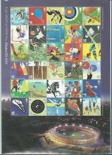 "GREAT BRITAIN 2011 LONDON 2012 ""THE SPORTS OF LONDON 2012""  FINE USED SHEETLET"