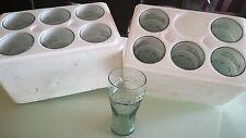Set 12 Bicchieri Bicchiere Coca Cola Originali Da Collezione In Vetro