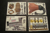 GB 1972 Commemorative Stamps~BBC~Fine Used Set~UK Seller