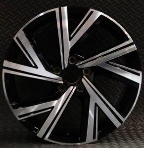 Excellent Single 18x7.5 ET51 GENUINE OEM VW Golf MK8 Bergamo Alloy 5H0601025AE