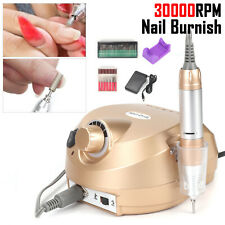 30000rpm Nail Drill Machine Kits Pro Electric File Pedicure Manicure Drill Bits