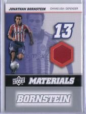 Jonathan Bornstein 2008 08 Upper Deck UD MLS Materials Game Used Jersey #MM-12