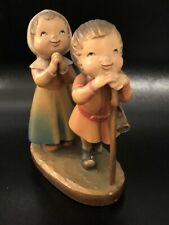 Anri Woodcarving 6� Reverence, Nativity by Juan Ferràndiz