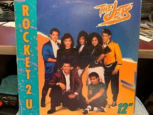 """THE JETS ROCKET 2 U 12"""" 1988  MCA 23822"""