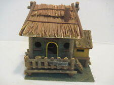 Old Handmade Wood Lifes A Beach Beach Bird House Solid Nice