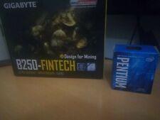 intel pentium + placa gigabyte B250 FINTECH