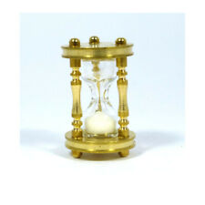 Creal 76953 Hourglass Brass 1:12 for Dollhouse New !#