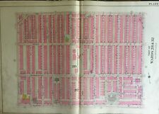 1908 E.V. SMITH PHILADELPHIA, PA STANTON WOMEN'S HOMEOPATHIC HOSPITAL ATLAS MAP