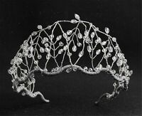 Women Prom Wedding Bride Vine Crystal Wide Hair Headband Hoop tiara Crown Band