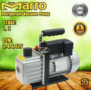 1/2Stage 2/4/6/12.7CFM Refrigerant Vacuum Pump Refrigeration Tools Air Condition