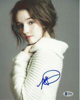 KAITLYN DEVER SIGNED 8x10 MOVIE PHOTO 2 SEXY ACTRESS BOOK SMART BECKETT COA BAS