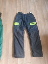 Francital Chainsaw Trousers Large x large  excelent condition