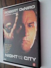night and the city dvd robert de niro jessica lange jack warden NIEUW