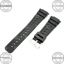 CASIO 10323536 Resin Watch Band for G-SHOCK GW-5000 GW5000 GW5000-1, Black