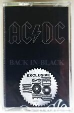 AC/DC BACK IN BLACK CASSETTE TAPE RECORD STORE DAY RSD SEALED
