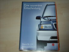 44387) Suzuki Vitara V6 - Diesel Prospekt 06/1996