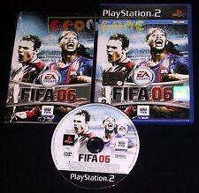 FIFA 06 Ps2 Versione Ufficiale Italiana 1ª Edizione ••••• COMPLETO