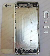 100% Original iPhone 5S Silver Battery Back Housing Cover & Button Set Genuine