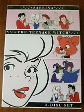 Sabrina The Teenage Witch the Complete Animated Series DVD RARE 3 Disc NEW oop