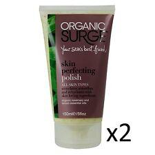 Orgánico surge Skin perfeccionar polaco Cream Crema Hidratante Limpieza 150ml X2