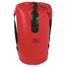 Highlander Troon Drybag Waterproof 70l Duffle Bag 5034358032722 Red