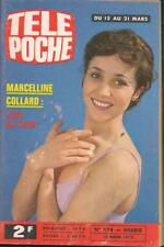 ▬►Télé Poche 474 (1975) MARCELLINE COLLARD_LENORMAN_MOTO WANDERER 408 CC