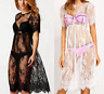 New Women Beach Dress Swimwear Lace Crochet Bikini Cover Up Bathing Suit