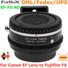 Fotodiox EF-FX ND Auto focus lens adapter For Canon EF lens to Fujifilm X Mount