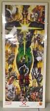 Universe X LTD Edition Marvel Lithograph Poster Signed by alex Ross 25 x 60 R504