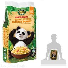 Envirokidz Organic Gluten-Free Cereal, Peanut Butter Panda Puffs, 25 Ounce Bag