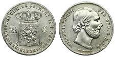 Netherlands - 2½ Gulden 1860 - Willem III